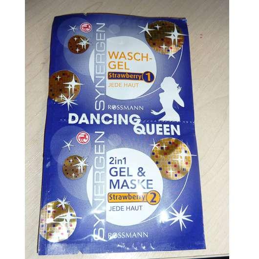 "SYNERGEN ""Dancing Queen"" Waschgel Strawberry + 2in1 Gel & Maske Strawberry"