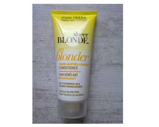 John Frieda Sheer Blonde go blonder Farb-Aufhellender Conditioner