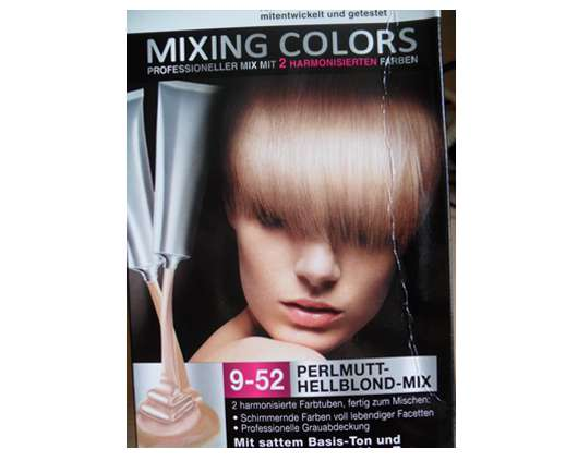 Syoss Mixing Colors – 9-52 Perlmutt-Hellblond-Mix