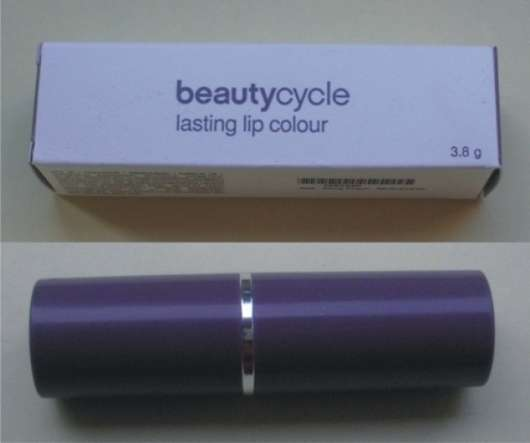 beautycycle lasting lip colour, Farbe: Shiny Peach