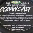 Lush Ocean Salt Gesichtspeeling