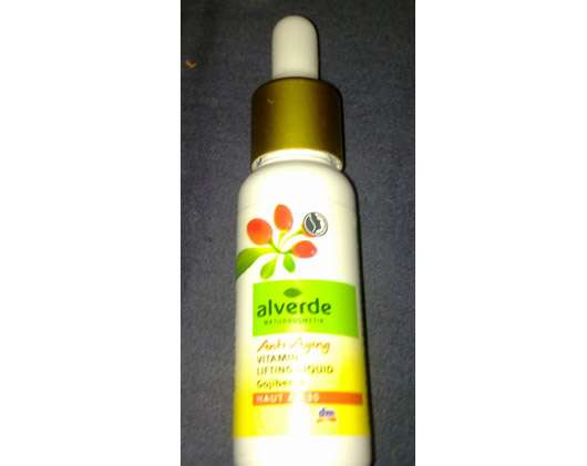 alverde Anti-Aging Vitamin Lifting Liquid Gojibeere
