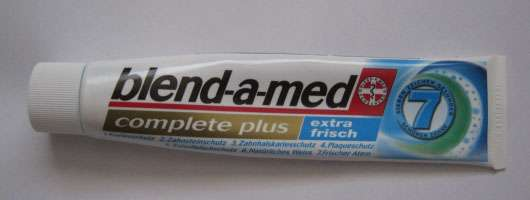 blend-a-med complete plus extra frisch Zahncreme