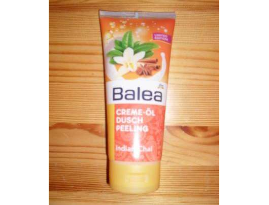 Balea Creme-Öl Dusch Peeling Indian Chai (Limited Edition)