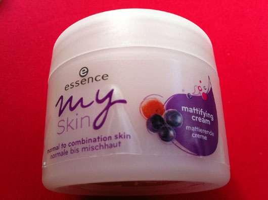 essence my skin mattierende Creme (normale bis Mischhaut)