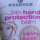 "essence 24h protection balm ""raspberry chocolate cookie"" (Winter Edition)"