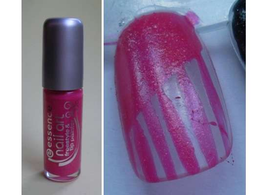 essence nail art freestyle & tip painter, Farbe: 04 pink!