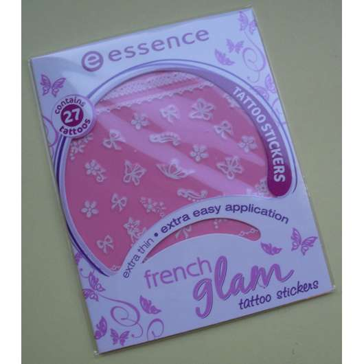 essence french glam tattoo stickers