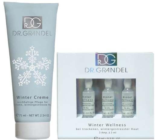 Wertvolle Pflege für wintergestresste Haut von DR. GRANDEL
