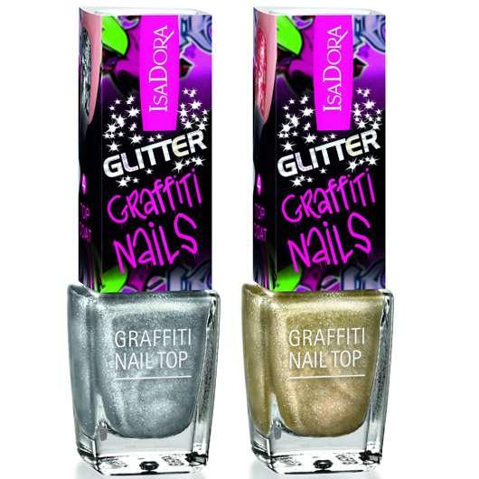 IsaDora Glitter Graffiti Nails