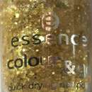 essence color & go quick drying nail polish, Farbe: 67 make it golden