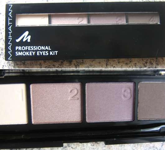 "Manhattan Professional Smokey Eyes Kit, Farbe: Misty Mauve (""New York Royalz"" LE)"