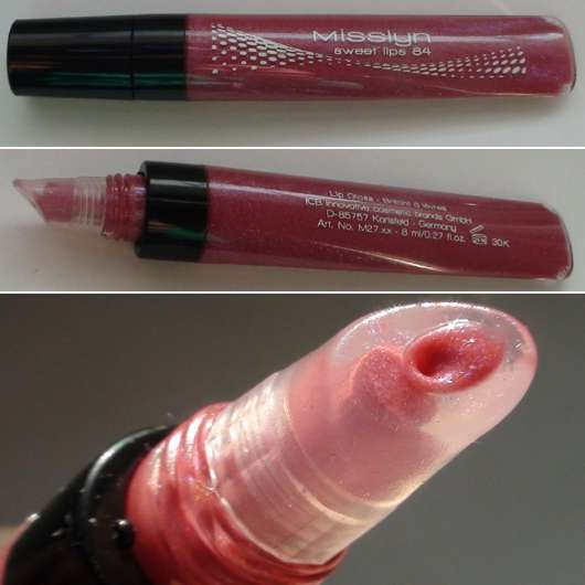 <strong>Misslyn</strong> Sweet Lips Lipgloss - Farbe: 84 Secret Kiss