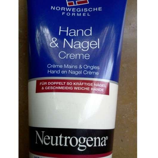 Neutrogena Norwegische Formel Hand & Nagel Creme