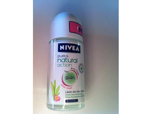 Nivea pure & natural action Deo Roll-on
