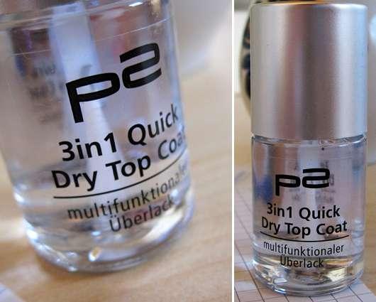 p2 3in1 Quick Dry Top Coat