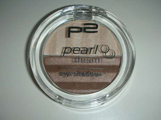p2 pearl dream eye shadow, Farbe: 050 shimmer leather