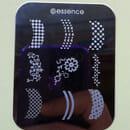 essence nail art Stampingschablone Tips & Blumen