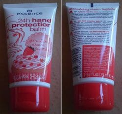 Produktbild zu essence 24h hand protection balm strawberry cream cupcake (LE)
