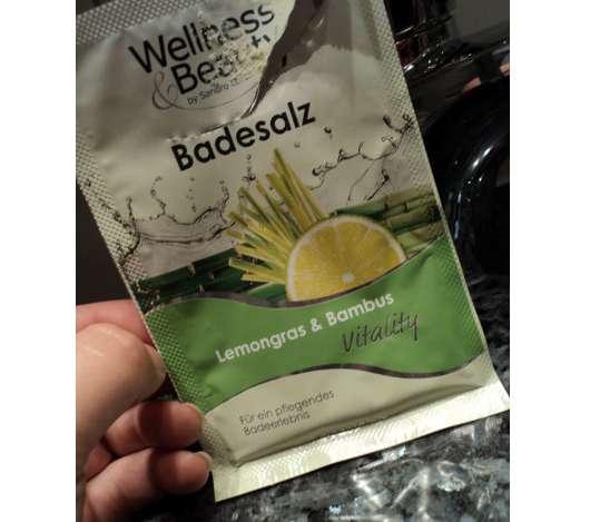 "Wellness & Beauty Badesalz ""Vitality"" Lemongras & Bambus"