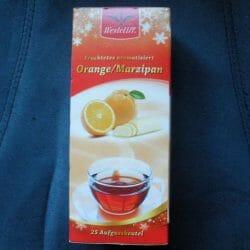 Produktbild zu Westcliff Früchtetee aromatisiert Orange Marzipan
