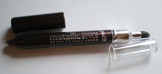 p2 metallic style eye pencil, Farbe: 010 stage beauty