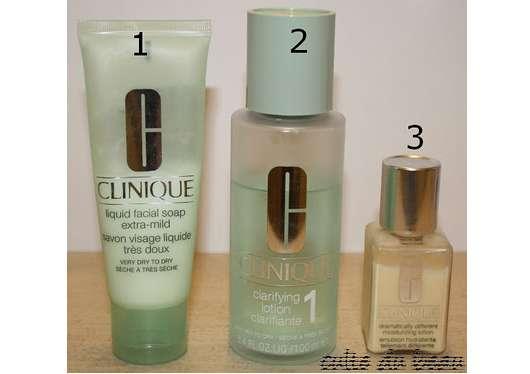 Clinique 3-Phasen Systempflege für Hauttyp 1
