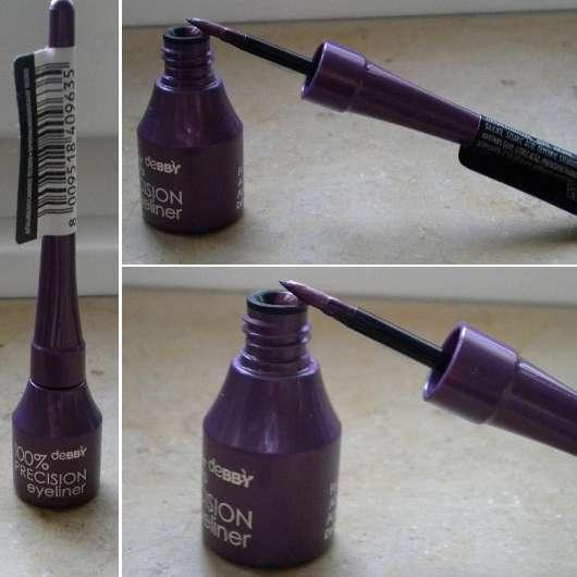 debby 100% Precision Eyeliner, Farbe: Lila