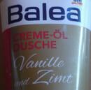 Balea Creme-Öl Dusche Vanille und Zimt (Limited Edition)
