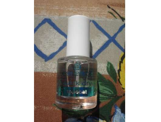 essence quick dry topcoat