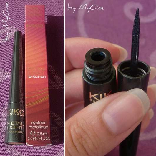 "Kiko Metal Light Eyeliner, Farbe: 06 Wild Forest (""Chic Chalet"" LE)"
