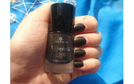 """essence """"Vampire's Love"""" nail polish, Farbe: 01 gold old buffy (Limited Edition)"""