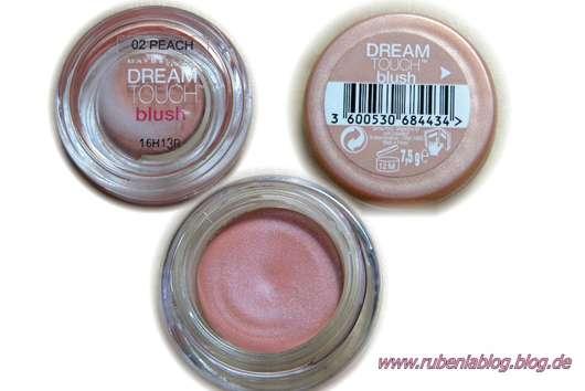 Maybelline Dream Touch Blush, Farbe: Nr. 02 Peach