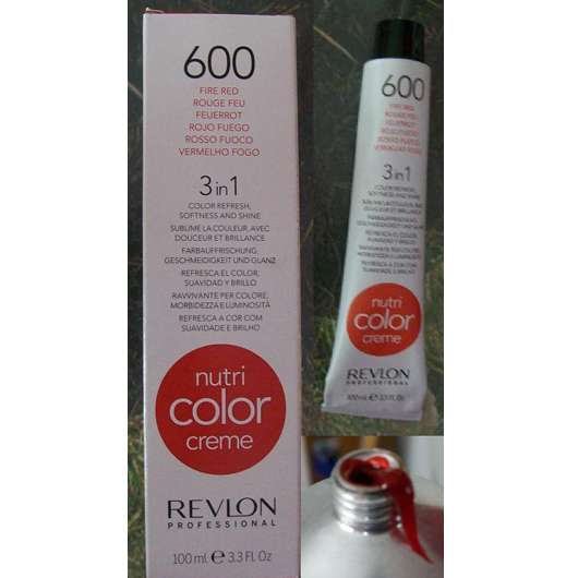 Revlon Professional Nutri Color Creme 3in1 Tönungskur, Farbe: 600 Feuerrot