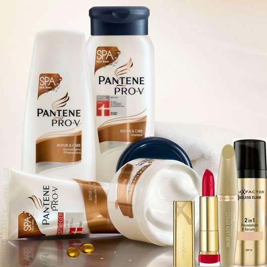 Gewinne ein Max Factor & Pantene Pro-V Beauty-Set