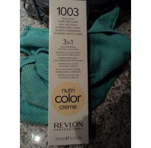 Revlon Professional Nutri Color Creme 3in1 Tönungskur, Farbe: 1003 Hellgold