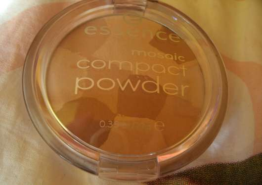 essence mosaic compact powder, Farbe: 01 sunkissed beauty