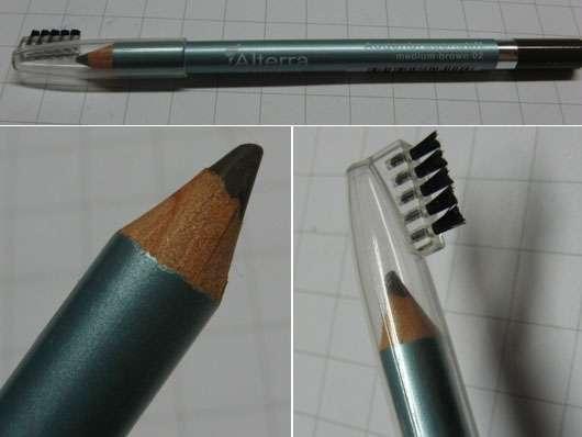 Alterra Augenbrauenstift, Farbe: 02 medium brown
