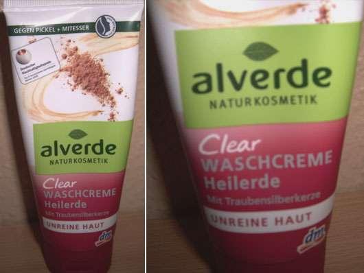 alverde Clear Waschcreme Heilerde – Unreine Haut