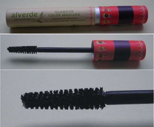 alverde Matroschka meets Beauty Glamour Color Mascara, Farbe: 10 Aubergine Deluxe (LE)