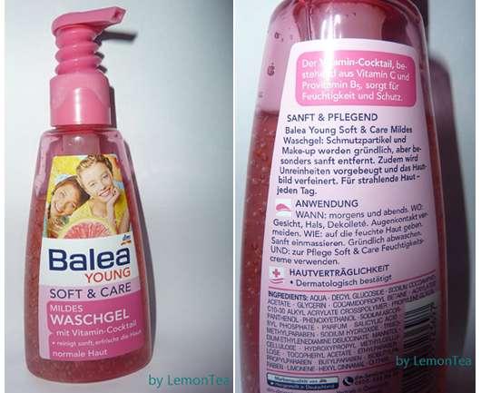 Balea Young Soft & Care Mildes Waschgel
