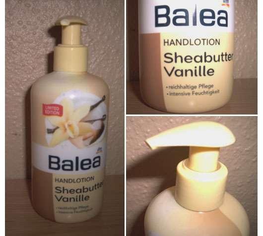 Balea Handlotion Sheabutter Vanille (Limited Edition)