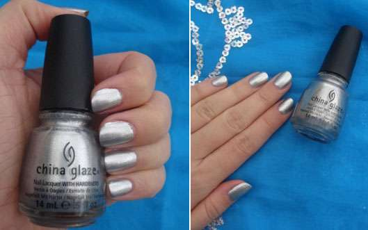 China Glaze Nail Lacquer, Farbe: Icicle (Let it Snow Collection)