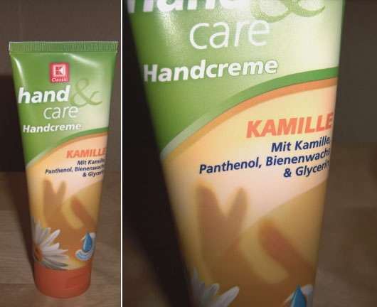 K-Classic hand & care Handcreme Kamille