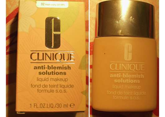 Clinique anti-blemish solutions liquid makeup, Farbe: fresh ivory