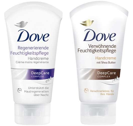 Die intensiv pflegenden Handcremes von Dove
