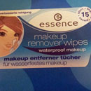 essence makeup remover wipes – waterproof makeup
