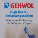 GEHWOL High Heels Entlastungssohlen