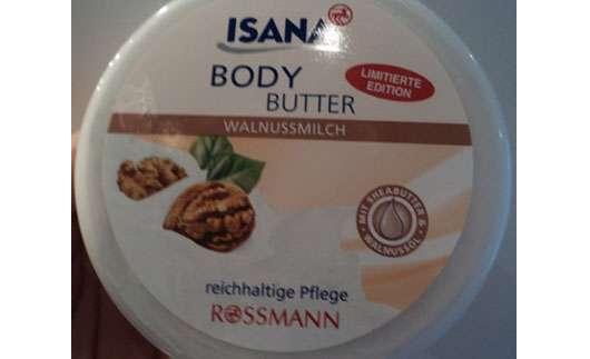 ISANA Body Butter Walnussmilch (Limitierte Edition)