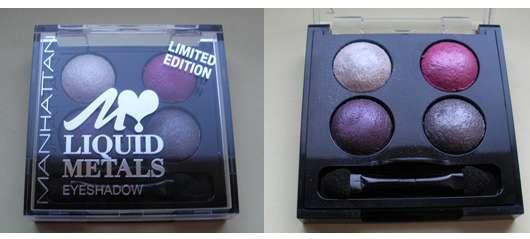 Manhattan Liquid Metals Eyeshadow, Farbe: Heavy Purple (LE)